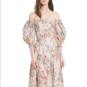NWT Rebecca Taylor Marlena floral dress